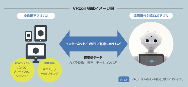 「VRcon for Pepper 障害者」の画像検索結果