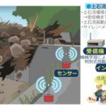 土石流の発生をAIで検出するセンサーシステムが開発される